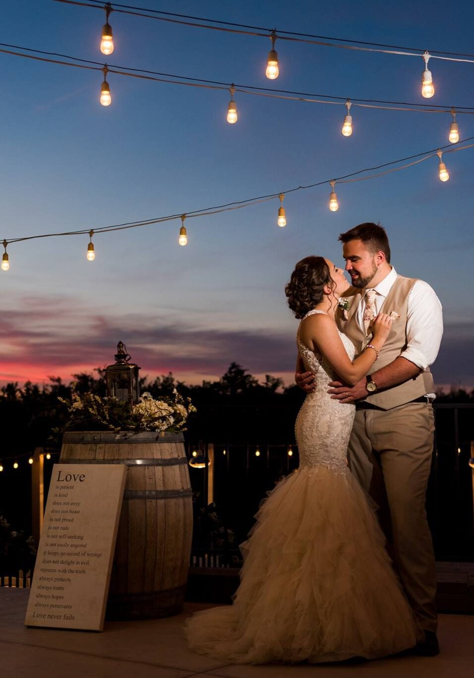 Congratulations Mr. & Mrs. Jones!   Photo: Brooke Marcella Photography
